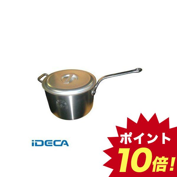 CW11102 アルミ キング 深型 片手鍋 目盛付 36
