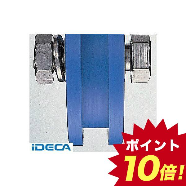 DN58045 MC防音重量戸車 車のみ130mm H型