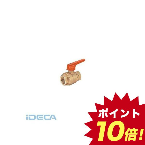 【個人宅配送不可】DT15824 直送 代引不可・他メーカー同梱不可 黄銅製2重ロック機構付ボールバルブ フルボア・ねじ込み形 150型