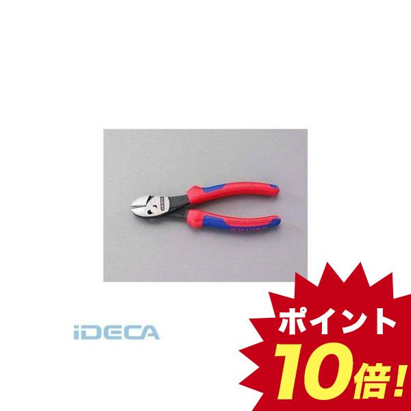 【個人宅配送不可】DV52093 直送 代引不可・他メーカー同梱不可 180mm 強力型斜ニッパー グリップ付 【キャンセル不可】