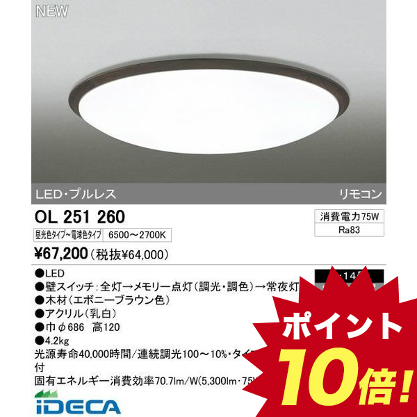 DW83192 LEDシーリングライト