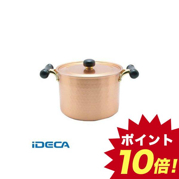 DW93196 銅IHアンティック 深型鍋 IH-103 22