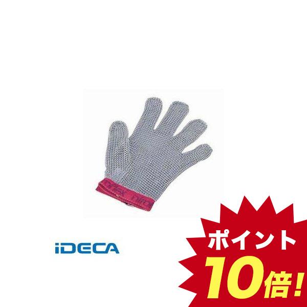 EL99230 ニロフレックス メッシュ手袋5本指 M M5 赤
