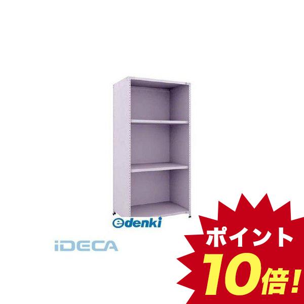EN20605 軽量150型背側板付棚 900X600XH1800 4段