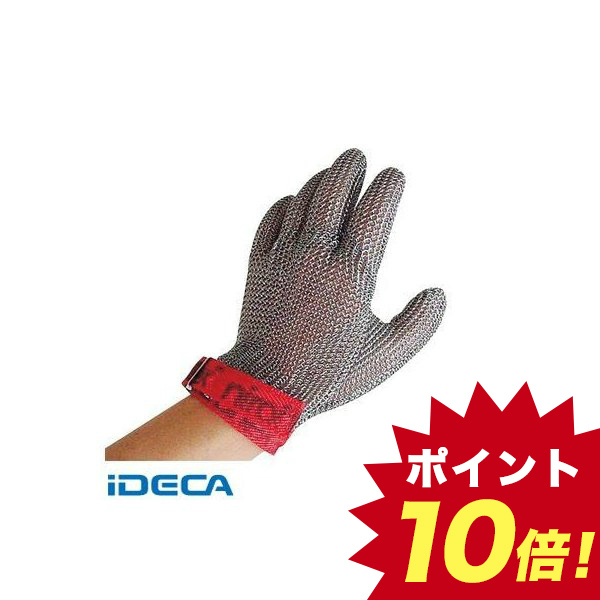 EU79582 ニロフレックス メッシュ手袋 1枚 L ステンレス