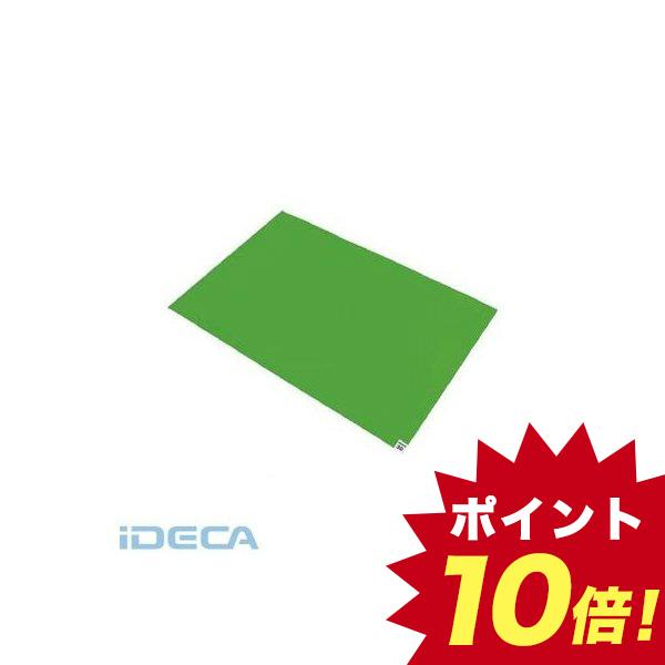 【個数:1個】FN82046 TRUSCO 粘着クリーンマット 600X1200MM グリーン 10シート入