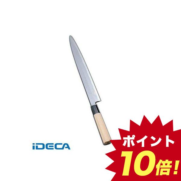 GS33496 堺實光 紋鍛 刺身庖丁 片刃 21cm