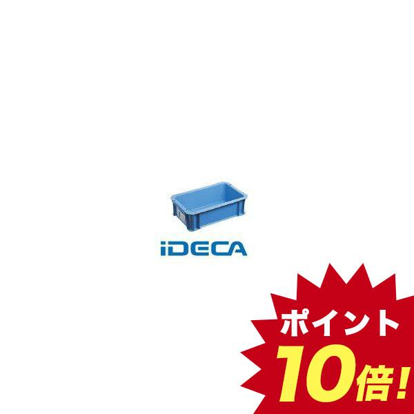 GS67043 SALENEW大人気 DA型コンテナ ボックス型 外寸:W326×D204×H100 直送 青 セール開催中最短即日発送 あす楽対応