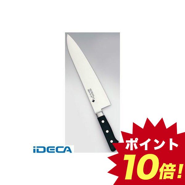 HR90865 堺實光 プレミアムマスター ツバ付 牛刀 30