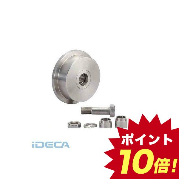 JP20870 SUS製重量用戸車枠無L型JS325-200L【200024783