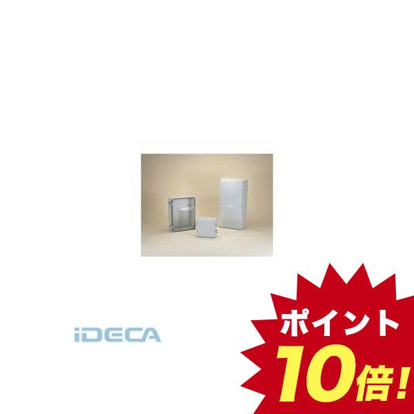 JR62673 直送 代引不可・他メーカー同梱不可 WPCP型防水・防塵ポリカーボネート開閉式ボックス