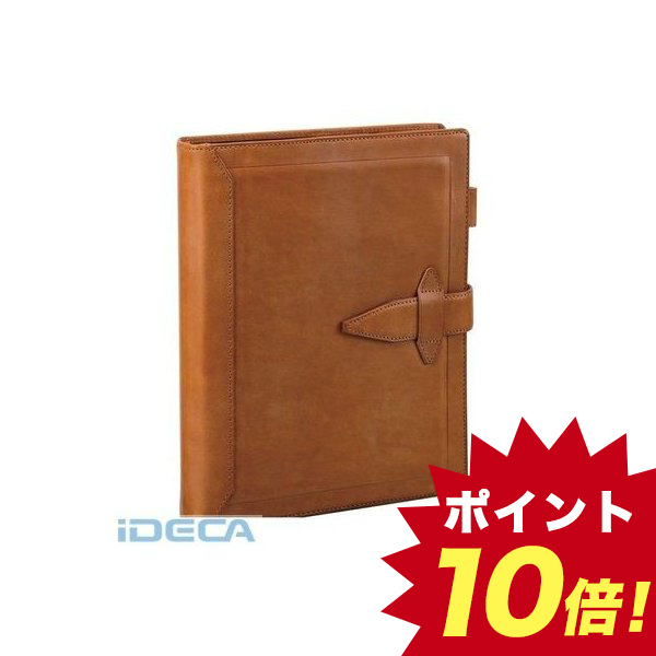 JR99968 ダヴィンチ ロロマクラシック システム手帳 A5 30mm ブラウン