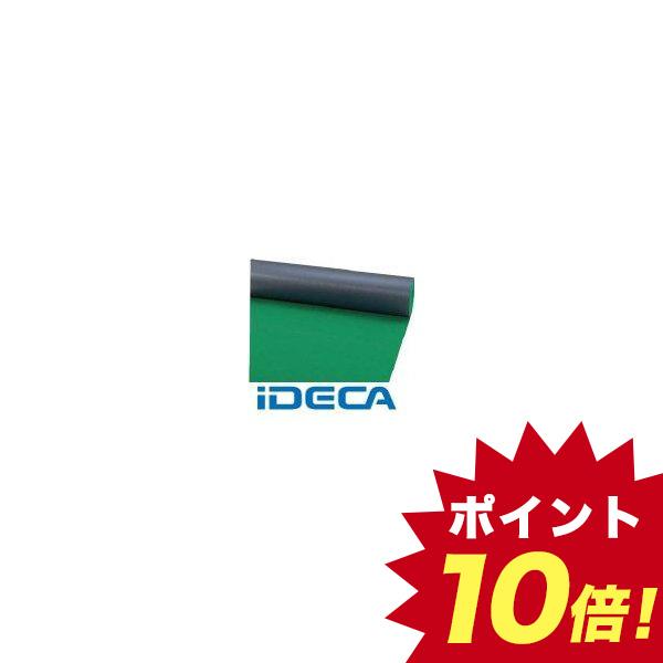 JS68194 【床保護シート】ニュービニールシート【B山】 緑
