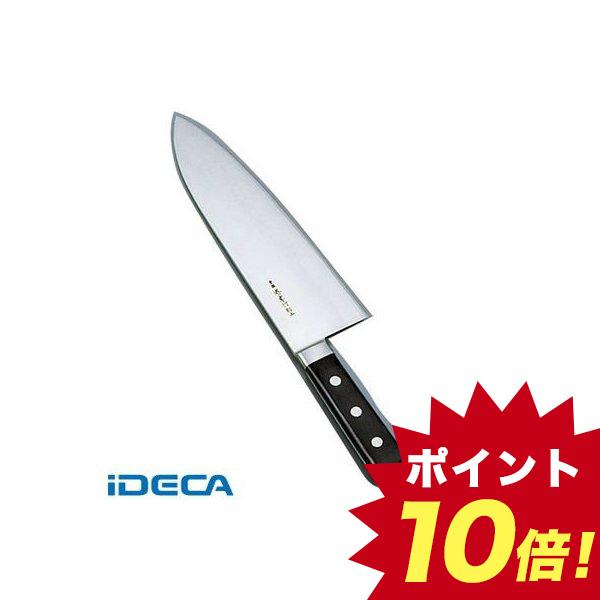 JS73433 堺孝行 日本鋼 ツバ付 小間切牛刀 27