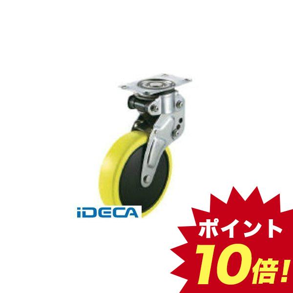 【受注生産品】JW05238 直送 代引不可・他メーカー同梱不可 緩衝キャスター自在車 125径帯電防止ウレタン車輪【キャンセル不可】