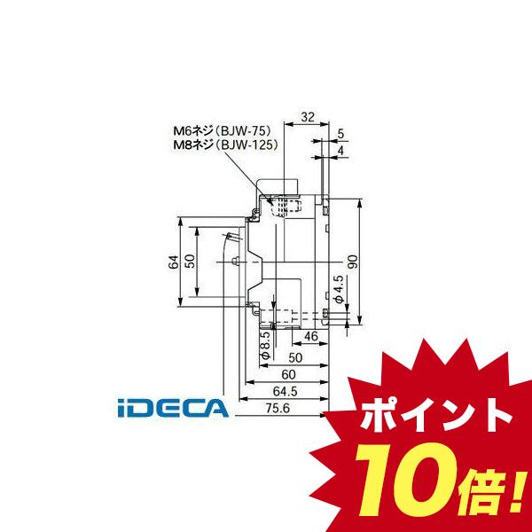 KL66276 漏電ブレーカ BJW型【キャンセル不可】