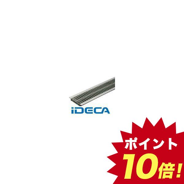 【個数:1個】KR63392 直送 代引不可・他メーカー同梱不可 ステンレス製U字溝用グレーチング 溝幅200mm用