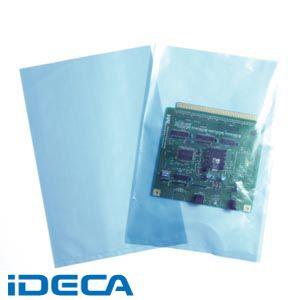 【スーパーSALEサーチ】【個数:1個】GR14457 無添加帯電防止規格袋(スリップタイプ・ブルー)0.05×350×450mm 500枚入り