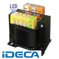 【個人宅配送不可】JN49331 直送 代引不可・他メーカー同梱不可 LED付マルチトランス 200V系 4KVA