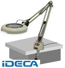 CN85654 LED照明拡大鏡 LSK-F LSK-F ラウンド4倍
