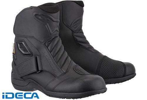 JN08934 NEW LAND ゴアテックス ブーツ 10 BLACK サイズ:39