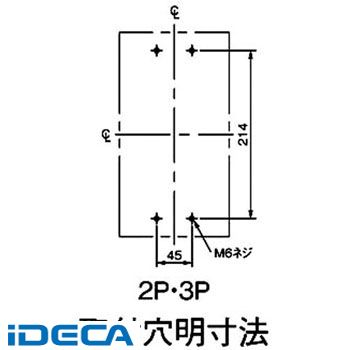 CV13698 サーキットブレーカ BBW型 盤用【キャンセル不可】