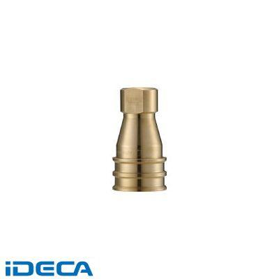 JR81783 クイックカップリング SPE型 真鍮製 大流量型 オネジ取付用