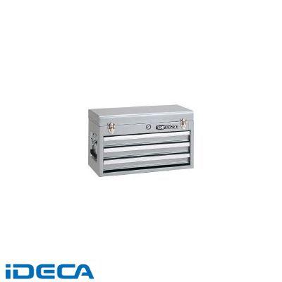 【個数:1個】EN57365 ツールチェスト 508X232X302mm シルバー