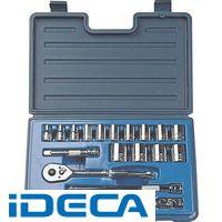 CN12939 1/2DR 18PC インチ ソケットレンチセット