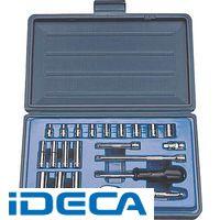 DL18196 1/4DR 21PC インチ ソケットレンチセット