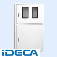 DW69182 直送 代引不可・他メーカー同梱不可 テナント盤キャビネット・2段ドア
