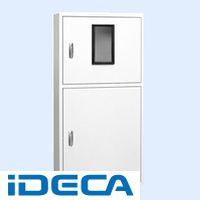 JN07175 直送 代引不可・他メーカー同梱不可 テナント盤キャビネット・2段ドア