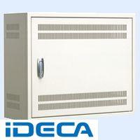 EN43371 直送 代引不可・他メーカー同梱不可 熱機器収納 スリット付 キャビネット