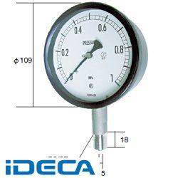 FP11220 長野計器 NKS 密閉形圧力計 A枠立型 100mm 【0~2.50MPa】