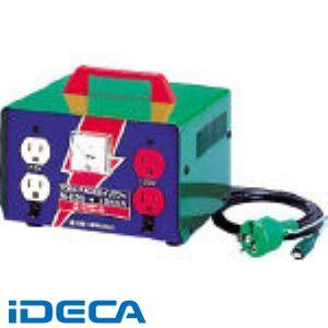 FL18912 変圧器 昇圧器ハイパワー 2KVA アース付タイプ 100V-115・125V