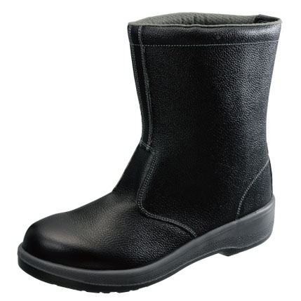 AV78927 安全靴 半長靴 7544黒 25.0cm