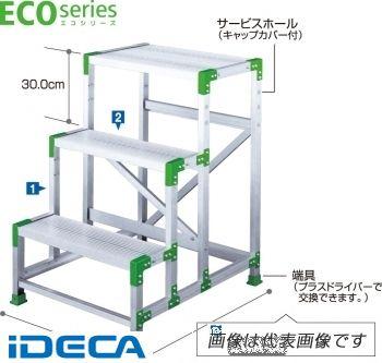 【個数:1個】EP79677 直送 代引不可・他メーカー同梱不可 エコシリーズ作業台 3段 0.9m