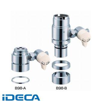 【ポイント10倍】 GU82666 【ポイント10倍】:iDECA 店 シングル混合栓用分岐アダプター-木材・建築資材・設備