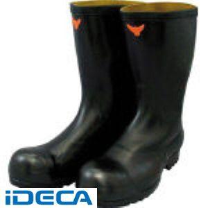 【あす楽対応】AR40416 安全耐油長靴 黒