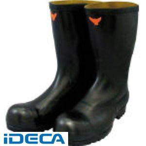 【あす楽対応】GT63196 安全耐油長靴 黒
