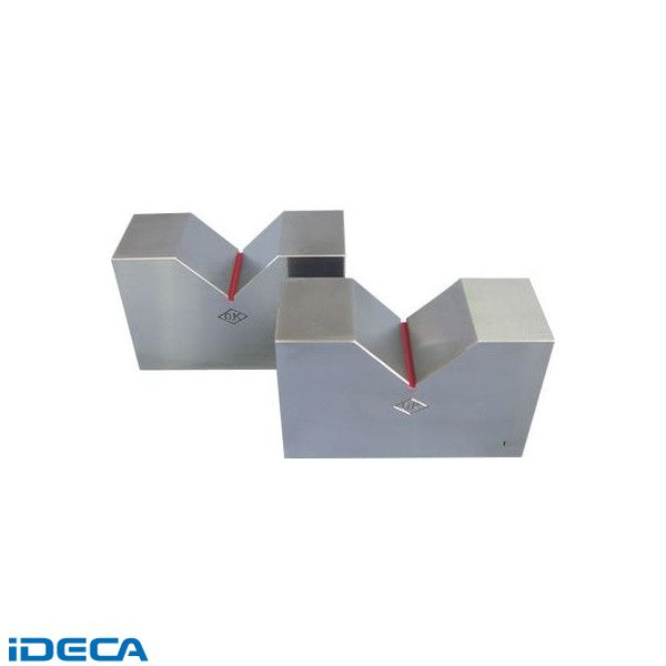 GR37995 鋳鉄製 B形 Vブロック 標準品 呼び100 100×68×40×45【送料無料】
