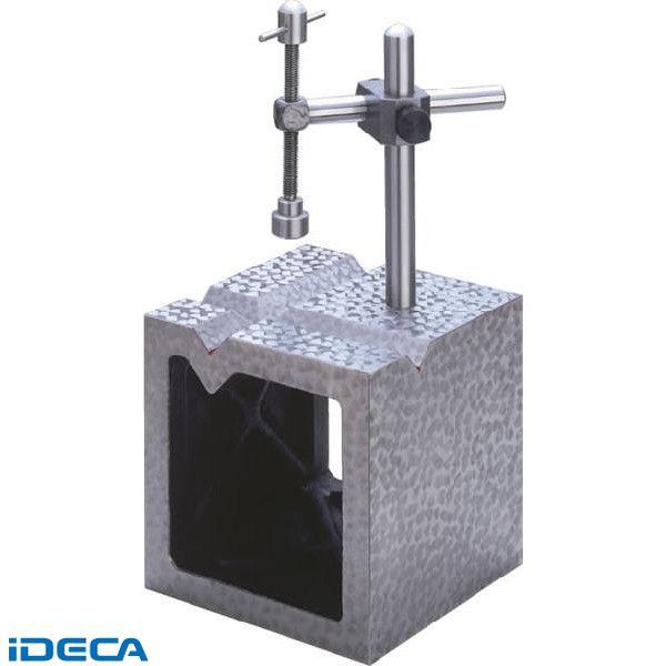 KM01279 鋳鉄製 V溝付桝形ブロック 特級 呼び150 150×150×150×22【送料無料】