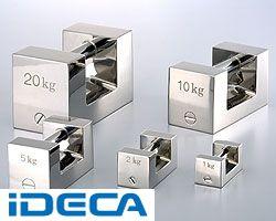 新しいコレクション KT86214 単品M1級2kgステンレス製まくら型分銅:iDECA 店-DIY・工具