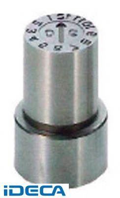 【個数:1個】KS02089 直送 代引不可・他メーカー同梱不可 P型金型デートマークYM型 16mm【キャンセル不可】