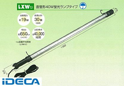 FT97491 防雨型LEDフローレンライト 40W型