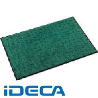 【個数:1個】FL41363 テラモト エコレインマット900×1800mmグリーン