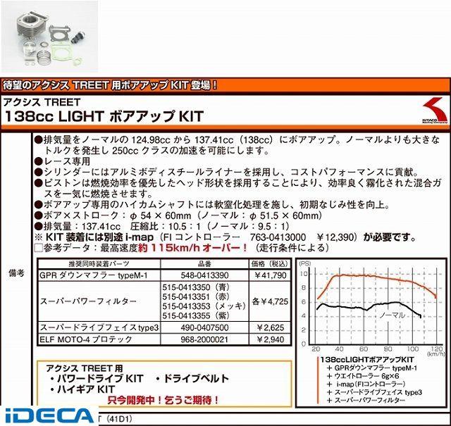 CT57507 ボアUP ライト TREET125