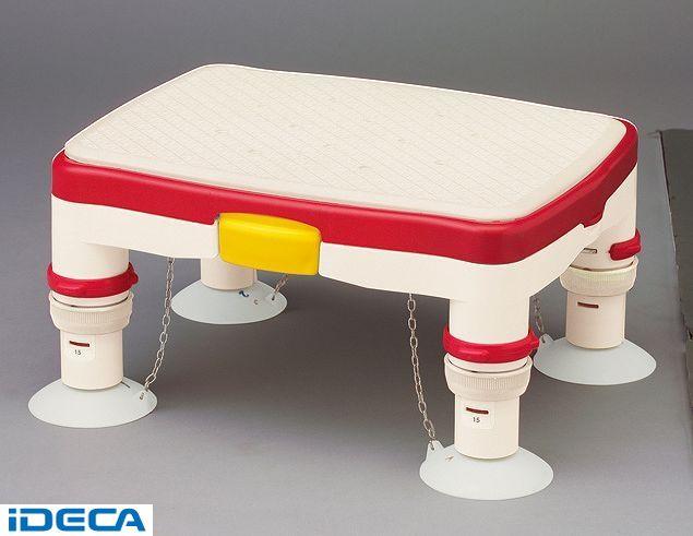 JR15533 安寿高さ調節付浴槽台R 【1】ミニ レッド