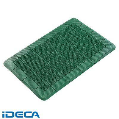 AU00738 クロスハードマット 900×1800 緑