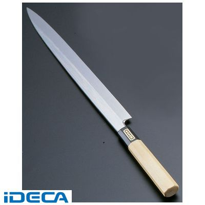BW36129 SA佐文 本焼鏡面仕上 柳刃 木製サヤ 27